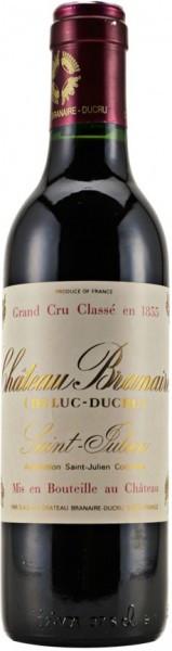 Вино Chateau Branaire-Ducru, AOC Saint-Julien 4-eme Grand Cru Classe, 2007, 0.375 л