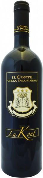 """Вино Il Conte Villa Prandone, """"Lukont"""", Marche Rosso IGT"""