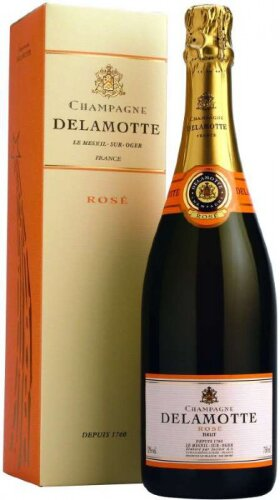 Шампанское Brut Rose, gift box