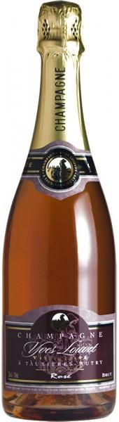 Шампанское Yves Louvet, Rose Brut, Champagne AOC