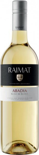 "Вино Raimat, ""Abadia"" Blanc de Blancs, Costers del Segre DO, 2011"