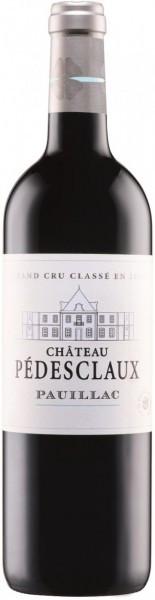 Вино Chateau Pedesclaux Grand Cru Classe Pauillac AOC, 2012