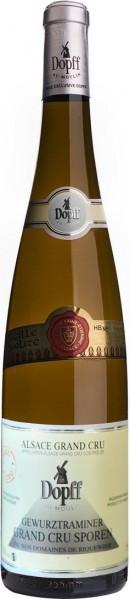 """Вино Dopff au Moulin, Gewurztraminer Grand Cru """"Sporen"""", Alsace AOC, 2012"""