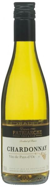 Вино Patriarche, Chardonnay, Vin de pays, 0.187 л
