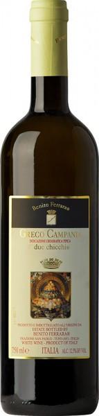 """Вино Benito Ferrara, """"Due Chicchi"""" Greco, Campania IGT, 2016"""