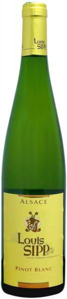 Вино Louis Sipp, Pinot Blanc, Alsace AOC, 2014