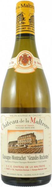 """Вино Chateau de la Maltroye, Chassagne-Montrachet 1er Cru """"Grandes Ruchottes"""", 2009"""