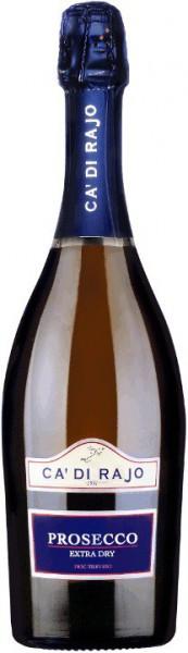 Игристое вино Ca'di Rajo, Extra Dry Prosecco, Treviso DOC, 0.375 л