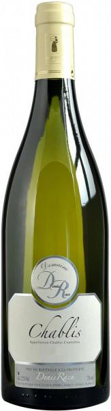 Вино Domaine Denis Race, Chablis AOC, 2015, 375 мл