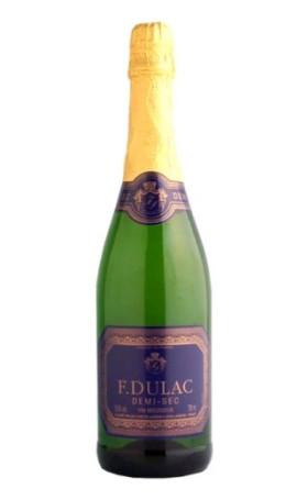 Игристое вино Francois Dulac Demi-Sec 0.75л