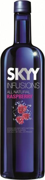 "Водка ""SKYY"" Infusions, Raspberry, 0.7 л"