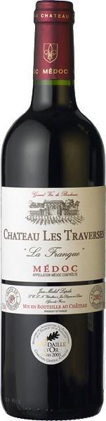 "Вино Chateau Les Traverses ""La Franque"" Medoc AOC 2005"