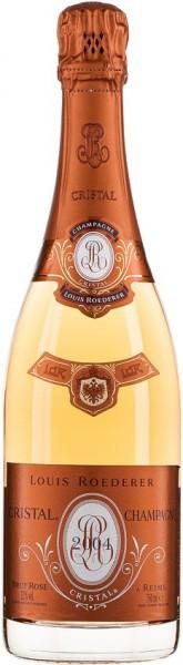 """Шампанское """"Cristal"""" Rose AOC, 2004"""