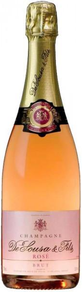 Шампаснское De Sousa et Fils Brut Rose Champagne AOC