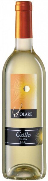 """Вино Tombacco, """"Solare"""" Grillo, Sicilia IGT, 2011"""