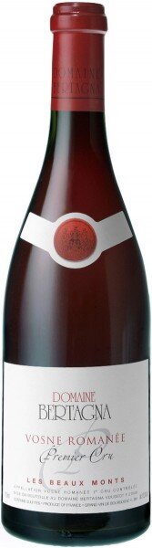 "Вино Domaine Bertagna, Vosne Romanee 1-er Cru ""Les Beaux Monts"", 2008, 0.375 л"