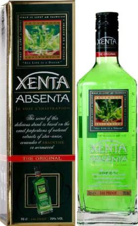 "Абсент Absent ""Xenta"", gift box, 0.7 л"