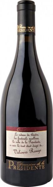 """Вино Domaine de la Presidente, """"Confidences"""" Velours Rouge, Cairanne Cotes du Rhone Villages AOC, 2005"""