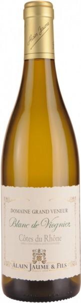 """Вино Domaine Grand Veneur, """"Blanc de Viognier"""", Cotes du Rhone AOC, 2013"""
