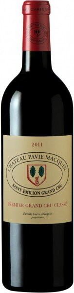 Вино Chateau Pavie Macquin, Saint-Emilion Grand Cru AOC, 2011