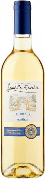 Вино Famille Excellor, Blanc Moelleux, Bordeaux AOP