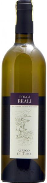 """Вино Guido Marsella, """"Poggi Reali"""" Greco di Tufo DOCG, 2011"""