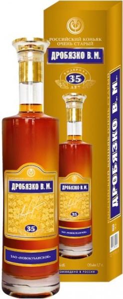 Коньяк Drobyazko V.M., gift box, 0.5 л