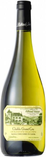 "Вино Billaud-Simon, Chablis Grand Cru ""Les Blanchots Vieille Vigne"", 2013"