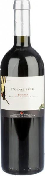 "Вино Querceto di Castellina, ""Podalirio"", Toscana IGT, 2011"