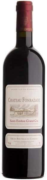 Вино Chateau Fonrazade, Saint-Emilion Grand Cru, 2011