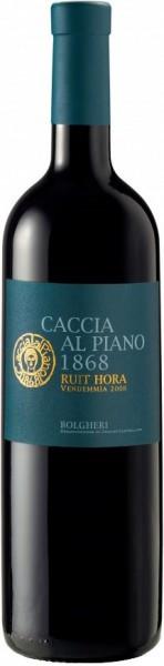 "Вино Caccia al Piano 1868, ""Ruit Hora"", Bolgheri DOC, 2011"