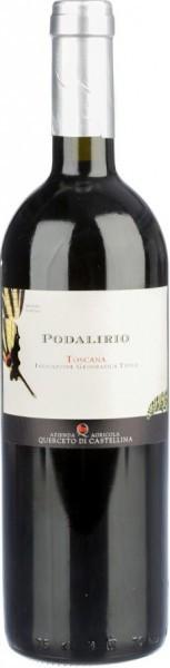 "Вино Querceto di Castellina, ""Podalirio"", Toscana IGT, 2012"
