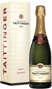 Шампанское Taittinger Brut Reserve, gift box