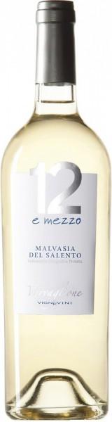 "Вино ""12 e Mezzo"" Malvasia del Salento IGP, 2015"