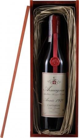 "Арманьяк ""Castarede"" Armagnac AOC, 1970, wooden box, 0.7 л"