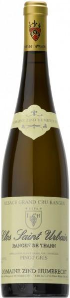"""Вино Zind-Humbrecht, Pinot Gris Rangen de Thann """"Clos Saint Urbain"""" AOC, 2009"""