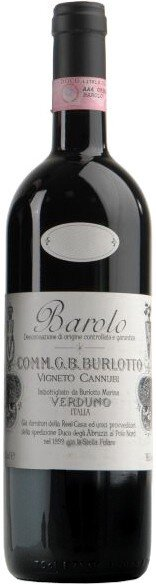 "Вино G.B. Burlotto, ""Cannubi"", Barolo DOCG, 2007"