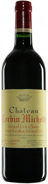 Вино Chateau Corbin Michotte, Saint-Emilion AOC Grand Cru Classe, 2001