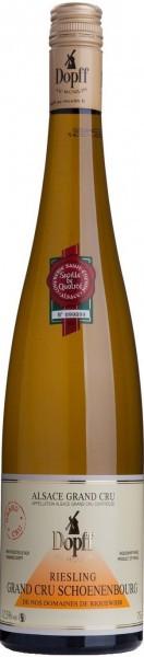 "Вино Dopff au Moulin, ""Schoenenbourg"" Riesling Alsace Grand Cru AOC, 2012, 0.375 л"