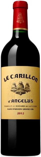 """Вино """"Le Carillon de l'Angelus"""", Saint-Emilion AOC, 2012, 0.375 л"""