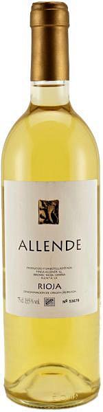 Вино Rioja DOC Allende blanco 2006