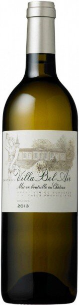 "Вино ""Chateau Villa Bel-Air"" Blanc, Graves AOC, 2013"