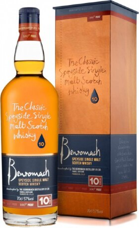 Виски Benromach 100 Proof, gift box, 0.7 л