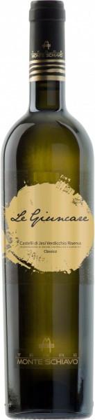 """Вино Terre Monte Schiavo, """"Le Giuncare"""", Verdicchio dei Castelli di Jesi Riserva DOCG Classico, 2013"""