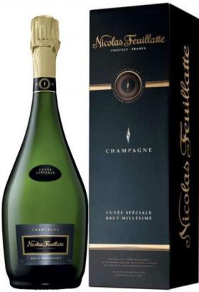 "Шампанское Nicolas Feuillatte, ""Cuvee Speciale"" Millesime Brut, 2007, gift box"