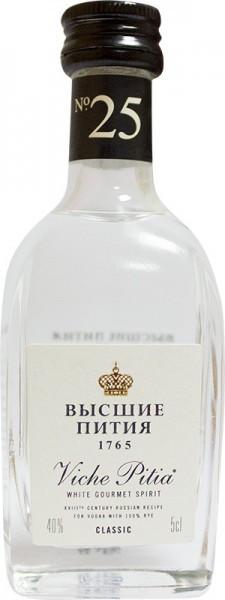 "Водка ""Viche Pitia 1765"" Classic, 50 мл"