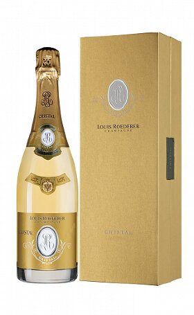 Шампанское Louis Roederer Cristal 2012 gift box 0.75л