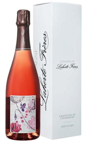 Игристое вино Laherte Freres Rose de Meunier Extra Brut gift box 0.75л