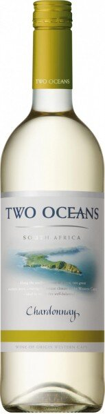 """Вино """"Two Oceans"""" Chardonnay, 2013"""