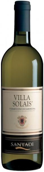 """Вино Vermentino di Sardegna DOC """"Villa Solais"""", 2016"""
